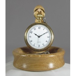 Oak Pocket Watch Stand